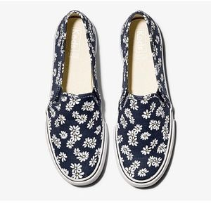 Daisy Print slide on Keds sneakers
